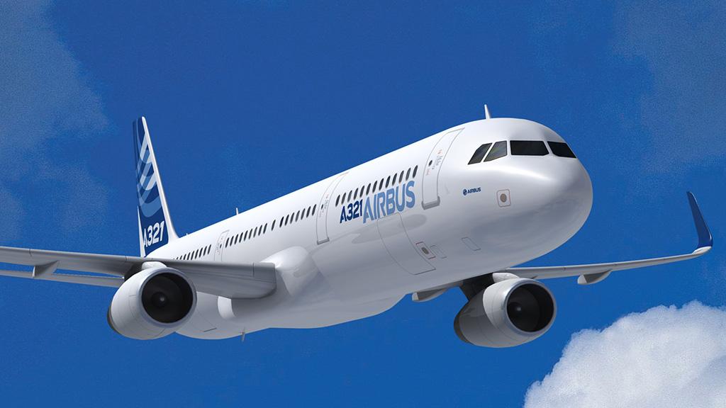 Airbus lyfter hogre