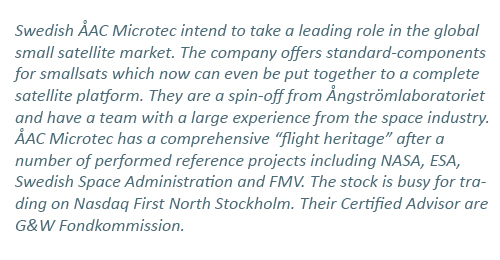 ÅAC Microtec & Clyde Space may create a world leading force in New Space